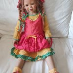 Кукла Annette Himstedt веселушка TIVI 2008 Химштедт Тиви