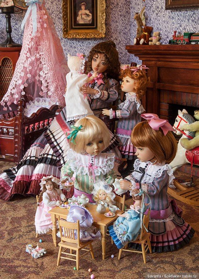 некоторых огромные картинки с куклами жанр портрета был