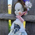 Queen Anne (Королева Анна )-реплика античных деревянных кукол 16-18 вв