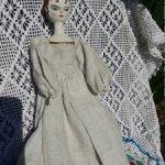 Деревянная куколка-реплика старинных голландских кукол