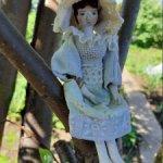 Деревянный колышек, реплика старинных голландских кукол