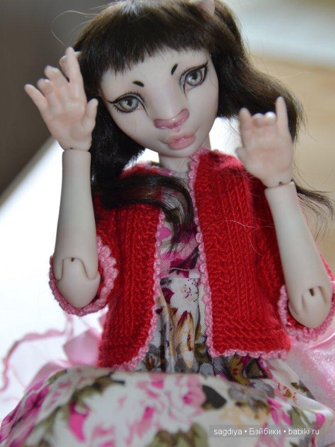 кукла Манечка от Марии Жуковой!