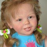 Кукла реборн Арина - лучезарный живчик!