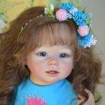Юная кукла реборн Софи (по мотивам Армель)