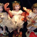 Три Грации, фарфоровые куклы от Ann Timerman