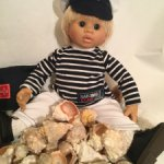 Ракушки для кукольного интерьера.