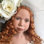 Lavinia (коллекционная кукла) c пуделем от Zwergnase