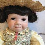 "Куколка от Джулия Гуд-Крюгер, Julie Good-Kruger "" Of Love» (Пэчворк Любви) для Ashton Drake. № 5."