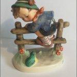 Ой, лягушка! Коллекционные фигурки от Goebel Hummel — Германия.