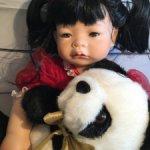 Сладкая булочка Keiko со своей пандой. Впервые в шопике.