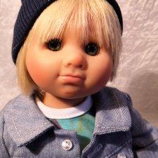 Sam 2018  (коллекционная кукла) от Rosemarie Muller.