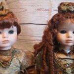 Коллекционная пара кукол от Mundia Collection. 4.