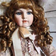Репро антикварной куклы. Германия.
