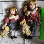 Фарфорочка сестрички из Германии