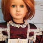 Виниловая кукла Lenchen от Ute Kase-Lepp Цена - сказка!!!