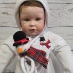Фарфорочка Nicholas Winter Baby Boy. Цена - сказка.