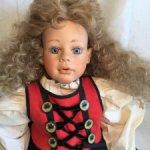 Фарфоровая кукла от автора Margit Dassen