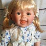 Большая виниловая кукла NJSY.