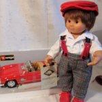 Вихтель Stephan с машинкой от Rosemarie Anna Muller.