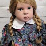 Раритетная кукла от Sabine Esche