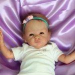 Крошка Мэгги. Кукла реборн Саутер Антонины