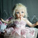 Авторская кукла Сапфир. Из серии балеринок