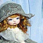 Мадам. Авторская кукла
