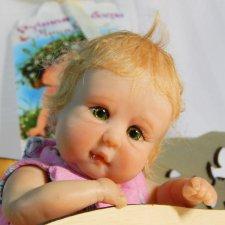 Лиза. Авторская кукла Аси Сашкиной
