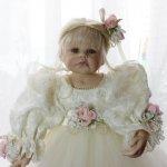 Могу ли я с танцевать для вас... Фарфоровая кукла от Linda Rick and Beverli Stoehr