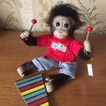 "Славная обезьянка ""Wally's concert recital"" от Ashton Drake"