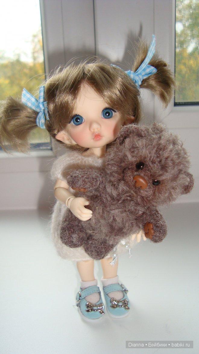 С медвежонком от Ольги Чернухо