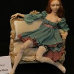 Лея - авторская фарфоровая кукла Инны Криковцевой