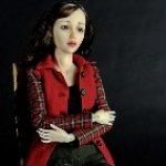 Кристи - авторская шарнирная кукла Инны Криковцевой