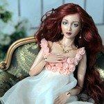 Диана. Авторская шарнирная кукла Инны Криковцевой