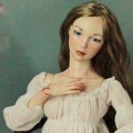 """Новая девочка """"Соня"""". Авторская фарфоровая кукла Инны Криковцевой - MovingDolls"""