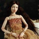 Полина - фарфоровая шарнирная кукла Инны Криковцевой, MovingDolls