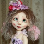 Cookie by Kim Arnold.Special OOAK the Trinket box.