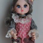 Шарнирная куколка в одежде 2.Срочная цена 2500р.с доставкой!