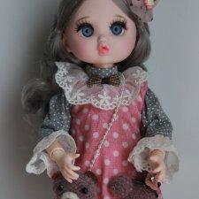 Шарнирная куколка в одежде 2.Срочная цена 2200р.с доставкой!