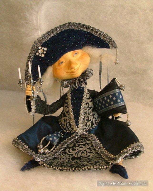 куклы Ольги Попугаевой.