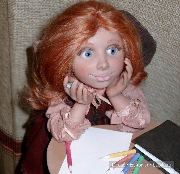 «Фантазерка» куклы Ларисы Кукурика
