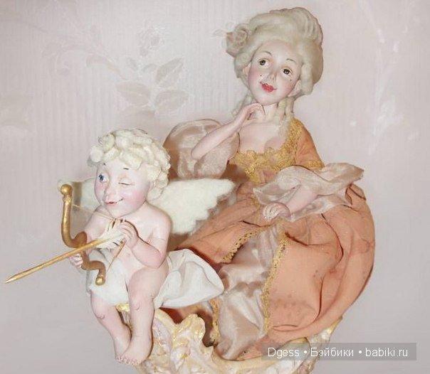 «Рококо» куклы Ларисы Кукурика