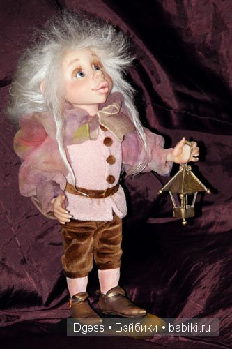 «Светлячок» куклы Ларисы Кукурика