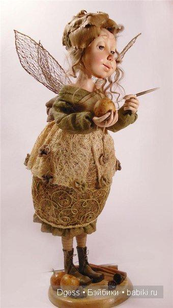 «Извините, много дел» куклы Ларисы Кукурика