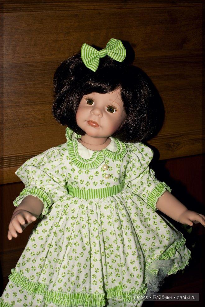 Кукла Erin от Denise McMillan.