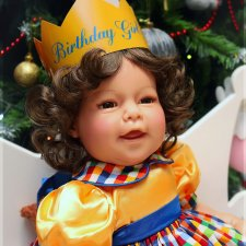 Birthday Girl Lee Middleton Doll