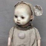 Куколка с антикварной головой