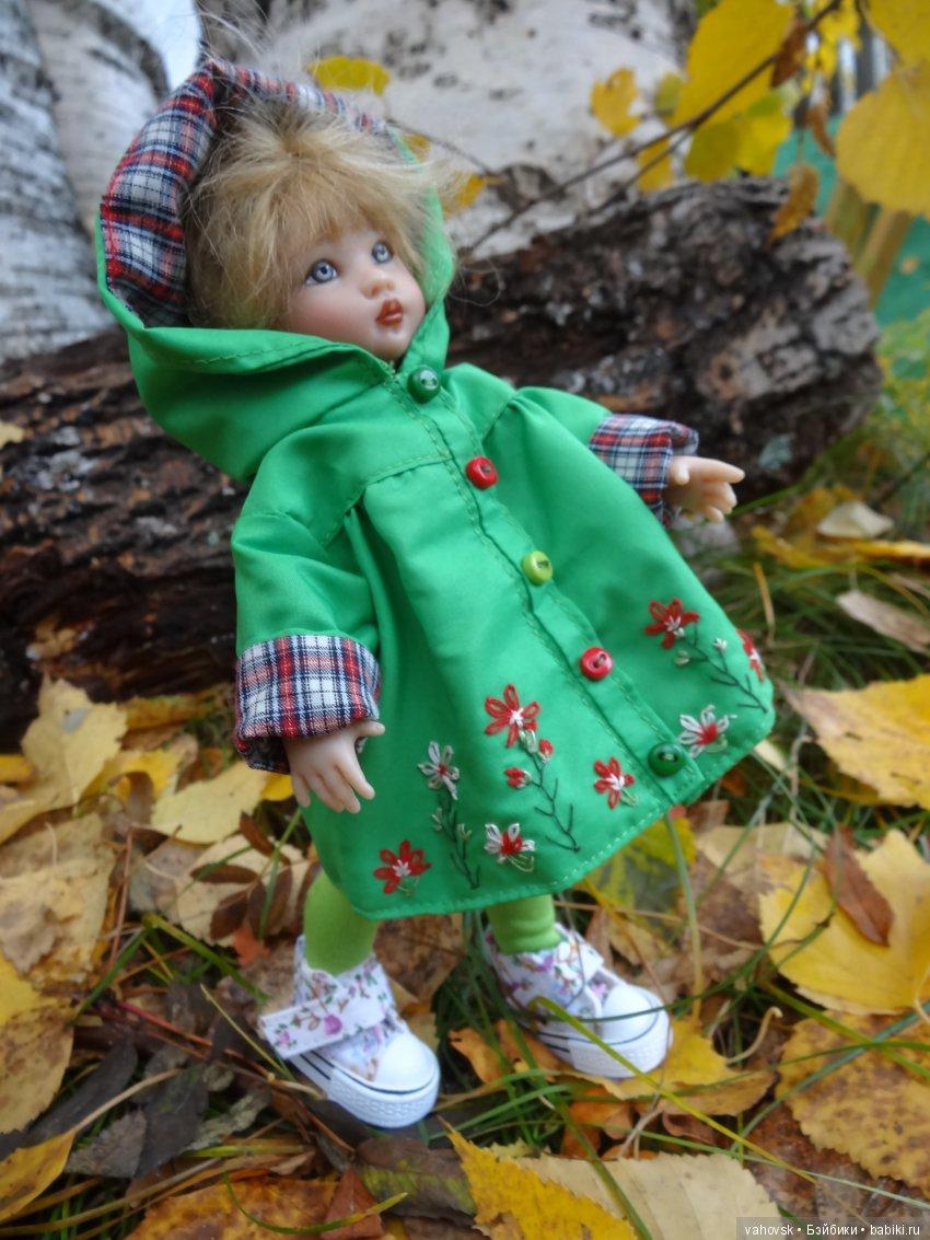 Кукла в осенней одежде картинка
