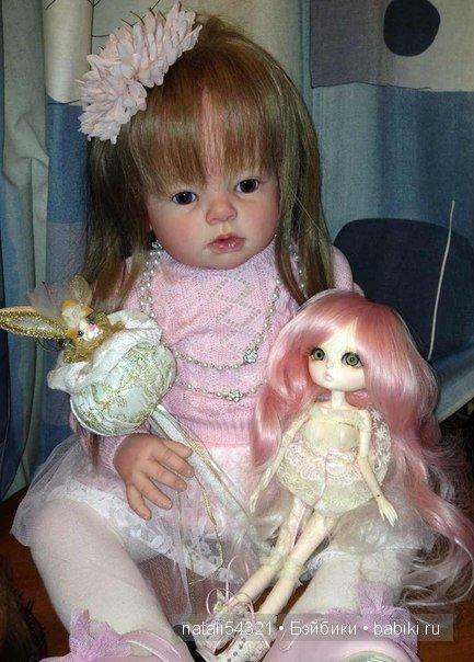 кукла реборн Адель и БЖД Лукия