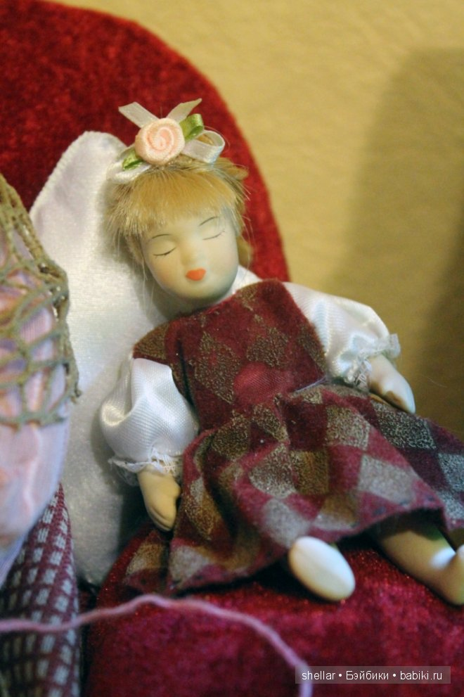 Фарфоровые куколки-китайчата - Герман и Оливия